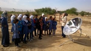 JOHUD education Jordan Solar panels