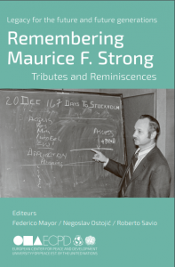 Remembering Maurice F. Strong cover